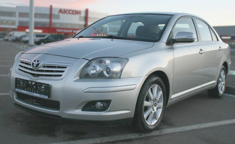 Аренда Toyota Avensis без водителя в Ульяновске